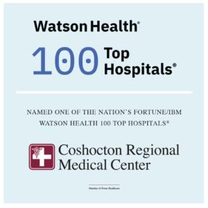 coshocton regional medical top 100 hospital