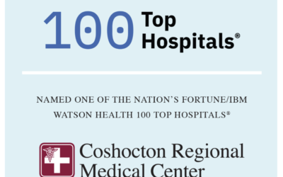 COSHOCTON REGIONAL MEDICAL CENTER NAMED A TOP 100 HOSPITAL