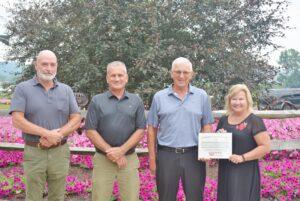 coshocton chamber award county